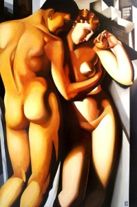 Adamo e Eva - Tamara de Lempicka