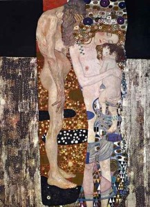 Klimt - le tre età della donna